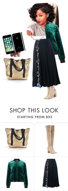"""""""Untitled #4156"""" by ayse-sedetmen ❤ liked on Polyvore featuring Victoria's Secret, Gianvito Rossi, Alice + Olivia and Christopher Kane"""