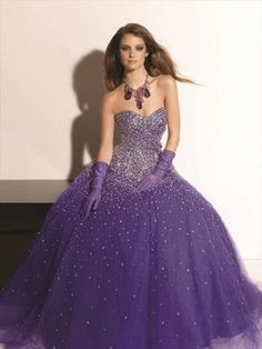 2013 Style Ball Gown Sweetheart  Beading  Sleeveless Floor-length Tulle  Grape Prom Dress _ Evening Dress. br_Product Name2013 Style Ball Gown Sweetheart  Beading  Sleeveless Floor-length Tulle  Grape Prom Dress _ Evening Dressbr_br_Weight2kgbr_br_ Start From1 Unitbr_br_ Hemline _ TrainFloor-lengthbr_br_Sleev.. . See More SweetHeart at http://www.ourgreatshop.com/SweetHeart-C951.aspx