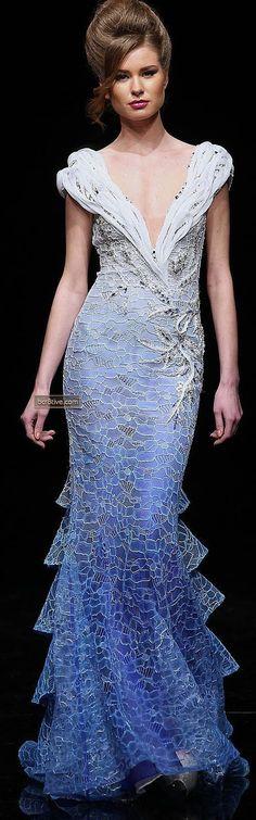 Hanna Touma Spring Summer 2012 Haute Couture - very unique designer.