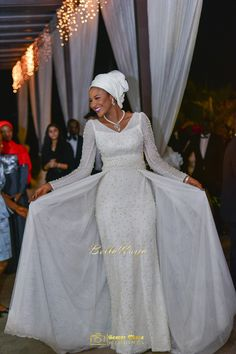 Nowadays Nigerian brides regardless of their religion desire the 'princess look' for their wedding day, and that often comes with a custom white wedding dress! Description from bellanaija.com. I searched for this on bing.com/images