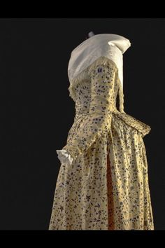 Jacket and petticoat (detail) ca. 1788 From the Gemeentemuseum...