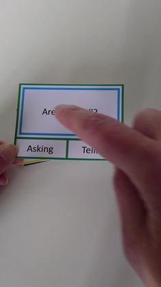 Asking or Telling Reading Comprehension Cards — Curriculum For Autism Schools For Autism, Autism Education, Autism Learning, Autism Classroom, Special Education Teacher, Classroom Libraries, Autism Resources, Early Education, Classroom Decor