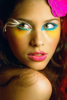 #Miss #Teen #World 2012  GABRIELE MARINHO  #Beauty: Aline Oliveira  #Photographer: Gustavo Boroni - #Brazil #makeup #make-up #diva #glamour @Hair News Network #glamour #skin #colors #pop #magazine