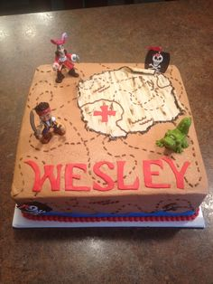 "Jake & the Neverland Pirates in ""Children's Birthday Cakes"" — Photo 1 of 2"