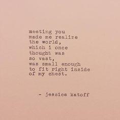 Beautiful poet: Jessica Katoff is a contemporary poet and fiction novelist based in Atlanta, GA.