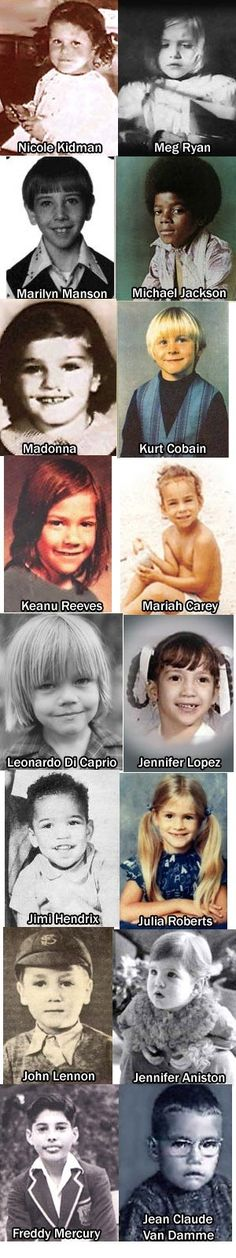 The previous entries in this Those Were the Days series featured Baby Faces of famous people of the past and present and Famous Faces as the folks looked in their childhood and young teen years. Th…