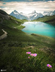 Gems of the alps, Bachalpsee in the Switzerland - Nature/Landscape Pictures Beautiful World, Beautiful Places, Beautiful Scenery, Photos Voyages, Wild Nature, Landscape Pictures, Landscape Photographers, Alps, Natural Beauty