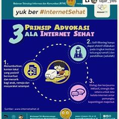 #Repost @fajar_yes ・・・ 3 Prinsip Advokasi ala www.internetsehat.id - - - #infographic #graphicdesign #design #roadmap #cyber #networking #internet #informationtechnology #online #informationsystem #informatika #information #turnbackhoax #BijakHadapiHoax #AntiHoax #relawantik #internetsafety #internetfriends #internetsehat . @relawantik @kemenkominfo @ictwatch
