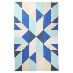 Zest Kilim Rug 3x5 Royal, $129 - $499, now featured on Fab.