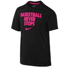 Nike Basketball Never Stops T-Shirt - Boys' Grade School at Foot Locker