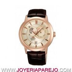 Reloj Orient Automático Caballero FET0P001W0 Fase Lunar