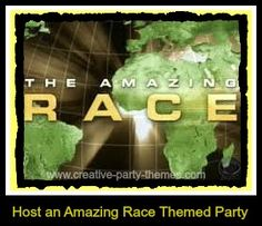 how to plan an amazing race party
