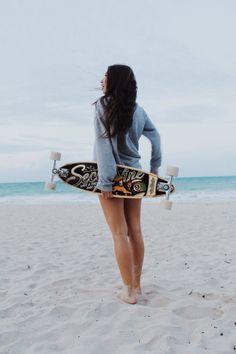 Summer time. Lv the skateboard!