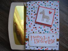 Geburtstagskarte mit Zoo Babies & Sassy Salutations.