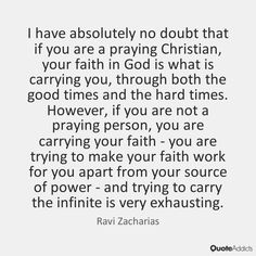 Ravi Zacharias Quotes & Wallpapers | Quote Addicts