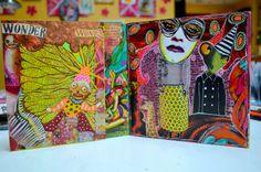 Visual JOurnal Big Eyed Wonder by teeshamoore on Etsy