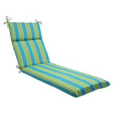 Pillow Perfect Wickenburg Outdoor Chaise Lounge Cushion -