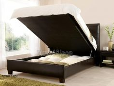 Superking ottoman bed with storage