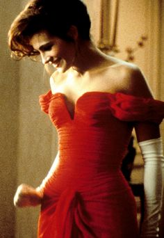 Julia Roberts - Pretty Woman one of my all time favorites  Ya know I admit she is attractive and draws you in but never understood people actually thinking shes such a pretty woman. It's all personality.