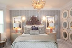10 Dreamy Southern Bedrooms- Luxurious Layers