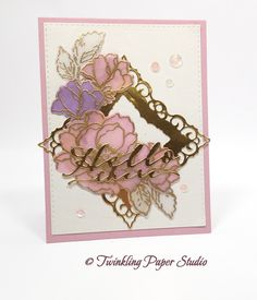 Twinkling Paper Studio: Perfect Match Paper and Inks