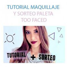 TUTORIAL MAQUILLAJE Y SORTEO PALETA TOO FACED ^_^ http://www.pintalabios.info/es/sorteos-de-youtube/view/es/135 #Internacional #Sorteo #Maquillaje