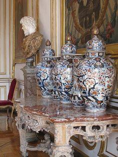 Palais Rohan - Salon des Evêques - porcelaines chinoises
