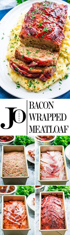This bacon wrapped meatloaf will become a family favorite for sure! Meatloaf is back and better than ever, full of flavor, some hidden veggies, and wrapped with delicious thick cut bacon!