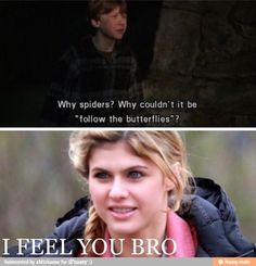 I feel both of you, Annabeth Chase and Ronald Weasly (from my favorite books! Percy Jackson and Harry Potter! Percy Jackson Memes, Percy Jackson Fandom, Percabeth, Solangelo, Fangirl, Oncle Rick, Magnus Chase, Trials Of Apollo, Annabeth Chase