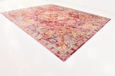 Center Red Area Rug