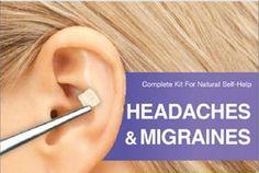 MIGRAINE & HEADACHE RELIEVING EAR SEEDS