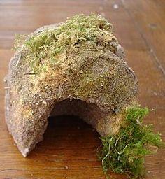 TUTO Petite grotte en polystyrene