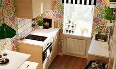 Einrichtungstipps Für Kleine Küche   10 Praktische Ideen Für Die  Küchenplanung. Kleine EinbaukücheKüche QuelleIkea ...