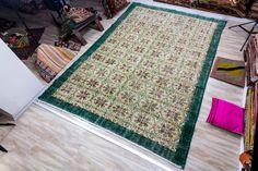 Vintage Turkish Rug, 2.82x9.84 ft (208x300 cm) by KilimArtShop on Etsy