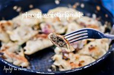 Apetyt na Zielone - zdrowo jem i gotuję: Pierogi wegetariańskie z soczewicą i pieczarkami
