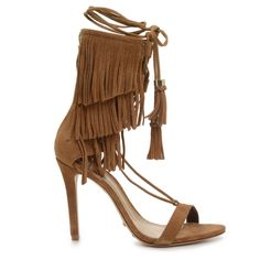 KIJA PRE-ORDER – SCHUTZ SHOES Foot Games, Big Calves, Fringe Fashion, Stiletto Pumps, Me Too Shoes, High Heels, Sandals, Brown, Fashion Trends