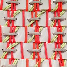 Fabric manipulation - textile design - Rebecca Skelton's work at Restless Futures