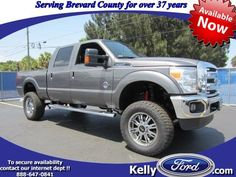 New Ford F-250 Crew Cab Lariat 4WD Lifted Diesel in Melbourne, FL Area $58,283 http://kellyford.com/