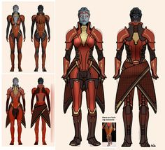 "Samara - Mass Effect | 10 Absurdly Skimpy Outfits Saved By ""Repair Her Armor"""