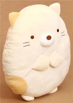 Peluche almohada beis gato Sumikkogurashi - Juguetes de peluche ...