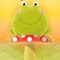 Reggie the Frog, illustrated by Lee Calderon, CALDERONCREATIVE