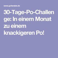 30-Tage-Po-Challenge: In einem Monat zu einem knackigeren Po!