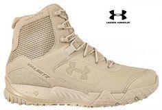Under Armour Valsetz RTS Tactical Boot - Men's UA All-Terrain Lightweight Boots Tactical Shoes, Tactical Wear, Tactical Clothing, Tactical Pants, Men's Shoes, Shoe Boots, Shoes Sneakers, Camp Shoes, Armor Shoes