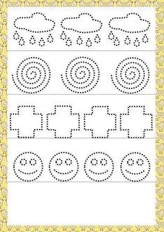 Kreslenie podľa čiar - Album používateľky zanka29 Tracing Worksheets, Kindergarten Worksheets, Worksheets For Kids, Pre Writing, Writing Skills, Pre K Activities, Preschool Activities, Alphabet Writing Practice, Tracing Sheets