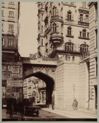 1., Tiefer Graben - Hohe Brücke Vienna Austria, Old Pictures, Big Ben, Old Things, Louvre, History, City, Building, Vintage