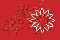 #Glueckwunsch #Karte rot gesteckte #Blume