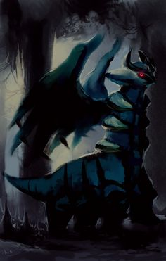 Giratina is so cool and is like me, lurking in the shadows Ghost Pokemon, Mega Pokemon, Type Pokemon, Pokemon Eevee, Play Pokemon, Pokemon Fan Art, Cool Pokemon, Pokemon Pins, Pokemon Fantasma