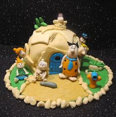 "Gâteau ""The Flintstones""  Cake by Charlotte's Pastry"