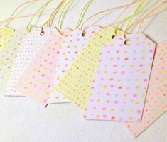 30 Printed Paper Tags with Twine. Perfect to add to your gift bags or boxes. #gift #cardboard #paper #tags #wrap #thankyou #thanks #blanktag #printed #favortags #girl #birthday #pink #party #bridal #favor #escort #baby #bridal #shower #goodybag #pastel #colors #party #embellishment #wedding #escort #decorations #goody #bags #paper #tags #craft #supplies #DIY #mom #mothers #day