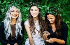 (Unseen) Lou,Eleanor and Sophia at jays wedding